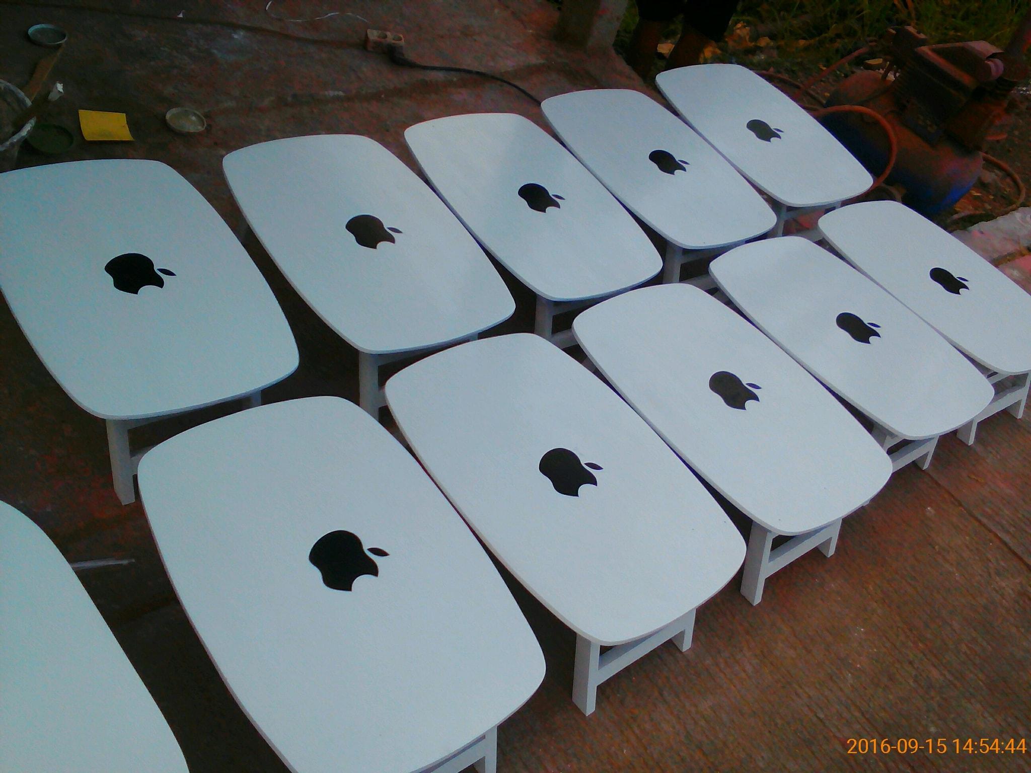 Meja Lipat Anak Karakter Apple