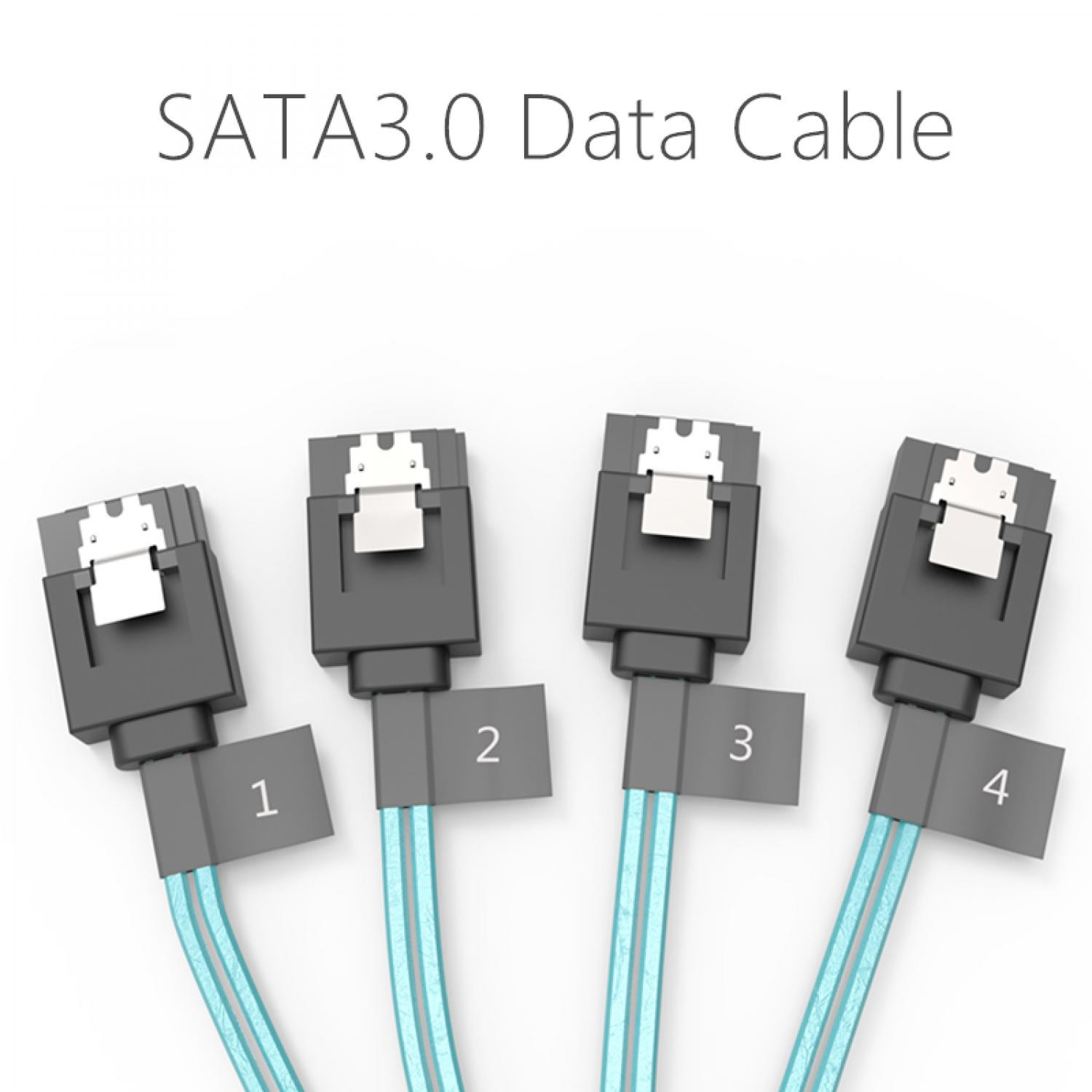 Kabel SATA 3.0 (Max. 4 HDD / SSD) Up To 6 Gbps
