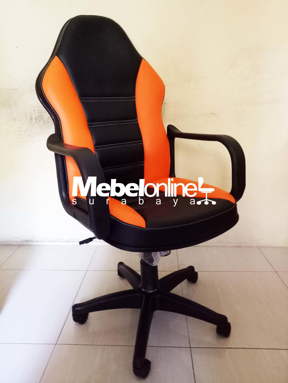 Jual Kursi Gaming Gaming Chair KD3999 Orange Baru Siap