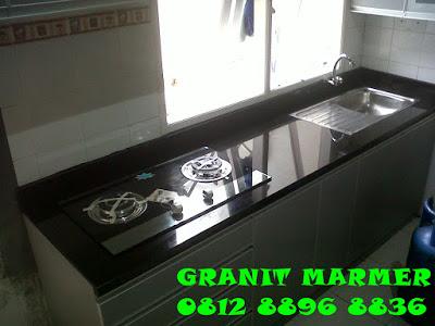 Jual meja dapur granit marmer granit marmer murah di for Harga granit untuk kitchen set
