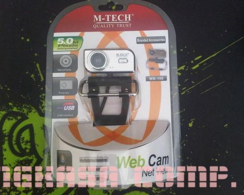 Jual Webcam Mtech 5 MP WB100 Baru | Webcam Kamera Video Murah