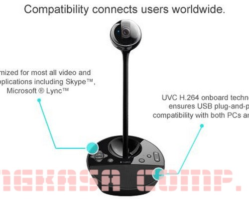 Jual Logitech BCC950 Conference Cam Baru   Webcam Kamera Video Murah