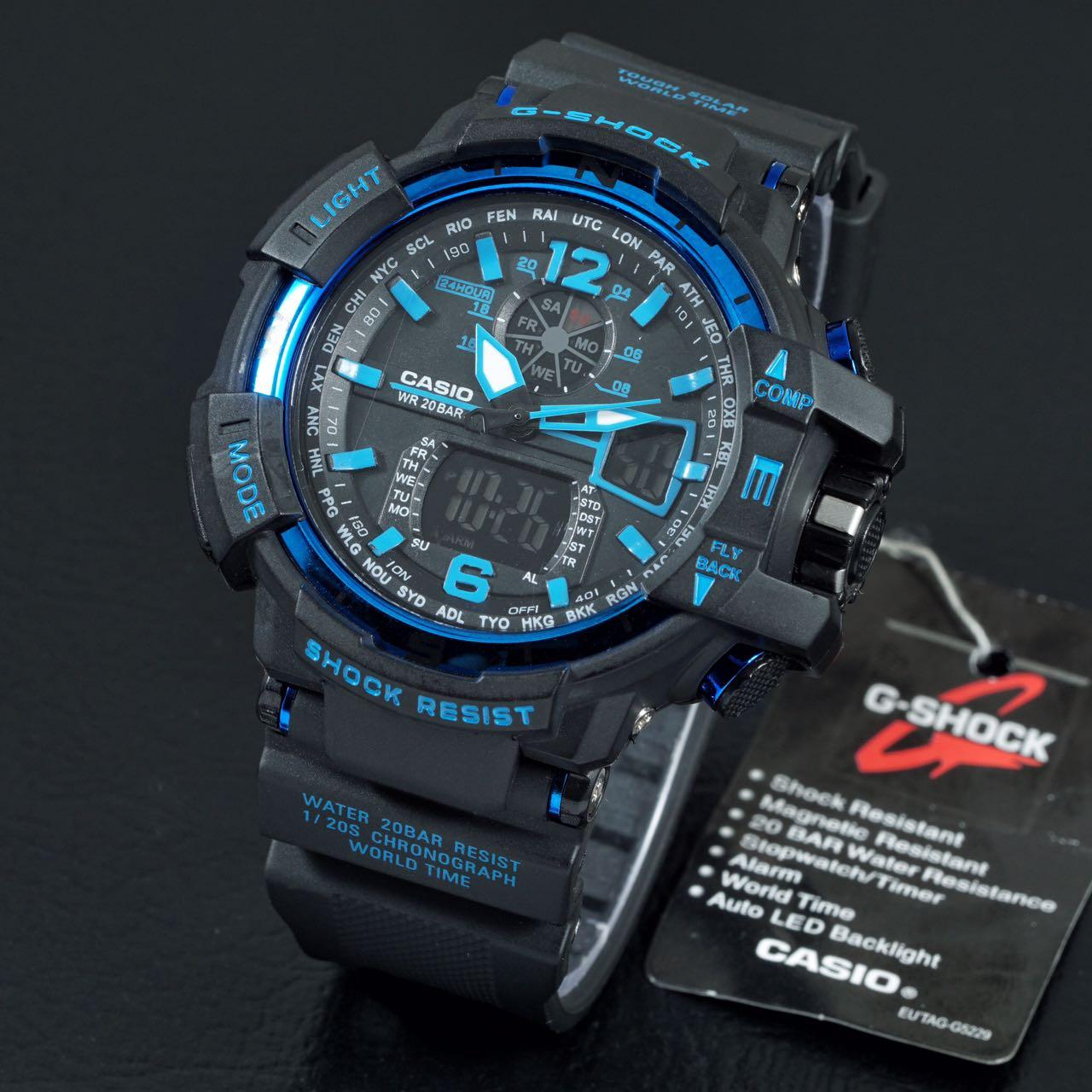 jam tangan g shock gwa 1100 gshock gwa1100 gw a1100 gw a 1100 lis biru