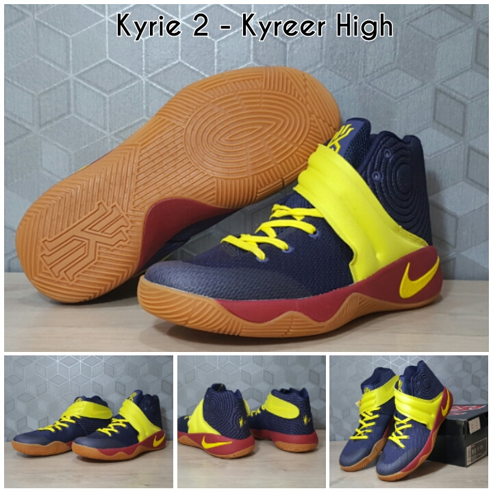 info for 3a765 d969e ... Jual Sepatu Basket Nike Kyrie Irving 2 - Kyreer High (Biru Dongker  Kuning) ...