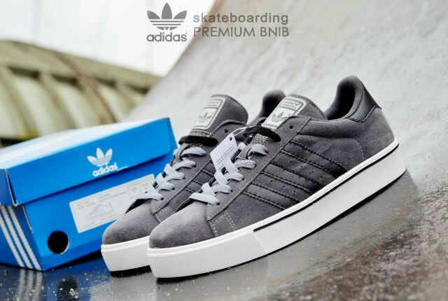 adidas skateboarding premium grey Murah
