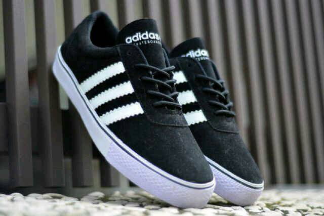 adidas adi ease skateboarding black Murah