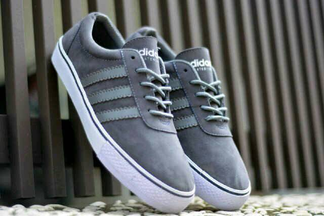 adidas adi ease skateboarding grey Murah
