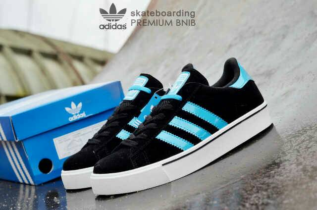 adidas skateboarding premium black tosca Murah