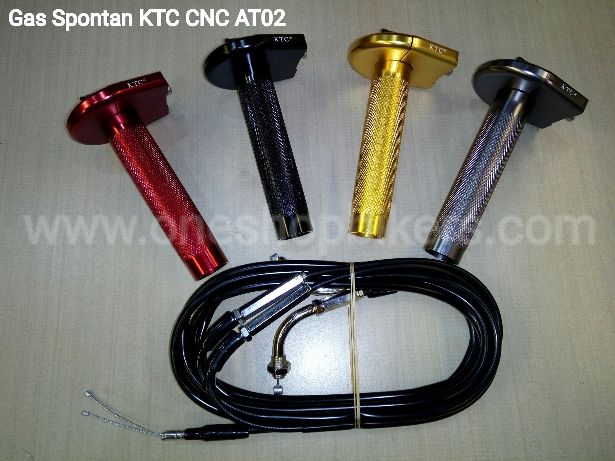 Jual Gas Spontan Ktc Cnc At02 1shop Bikers Partner Tokopedia Full