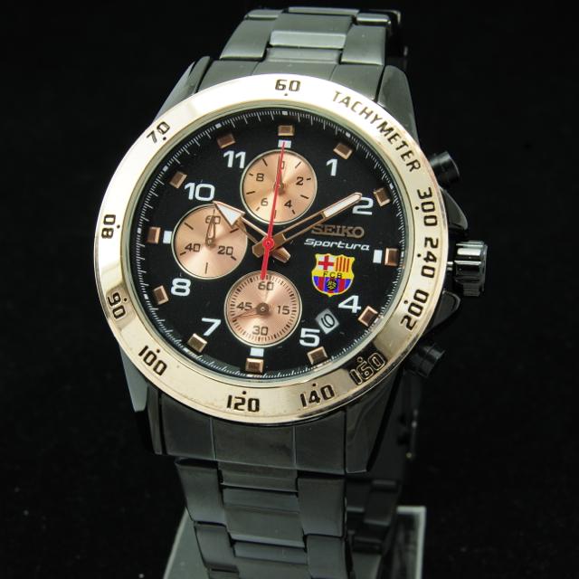 Jam tangan Pria Crono Aktif Seiko Barca KS663 KW Super Chrono aktif