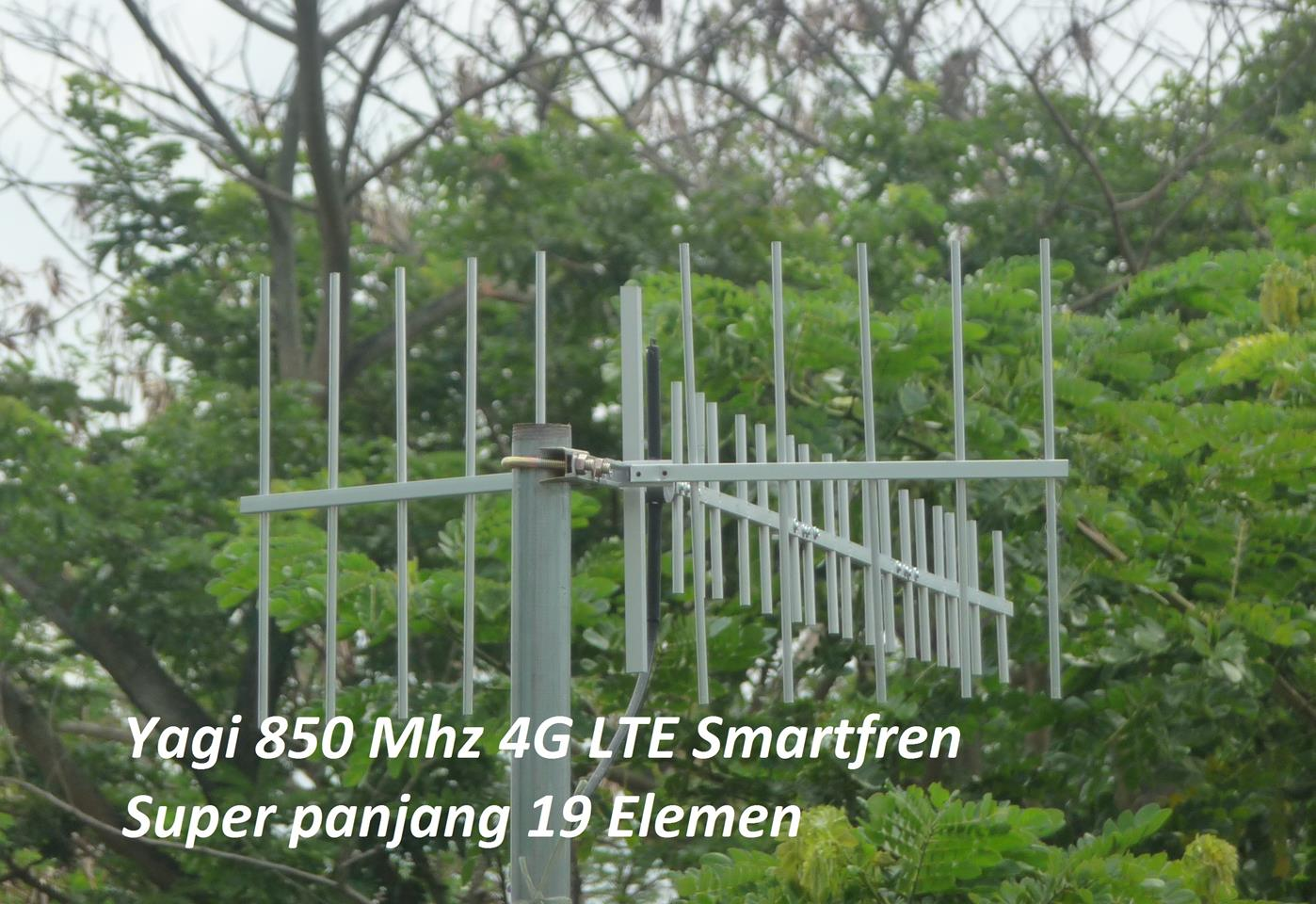 Antena Yagi Penguat Sinyal 19 Element 1 Pigtail