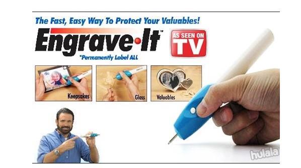 Engrave It / Engraveit Engraving Pen - Akal Ukir Serbaguna (2 Mata Bor