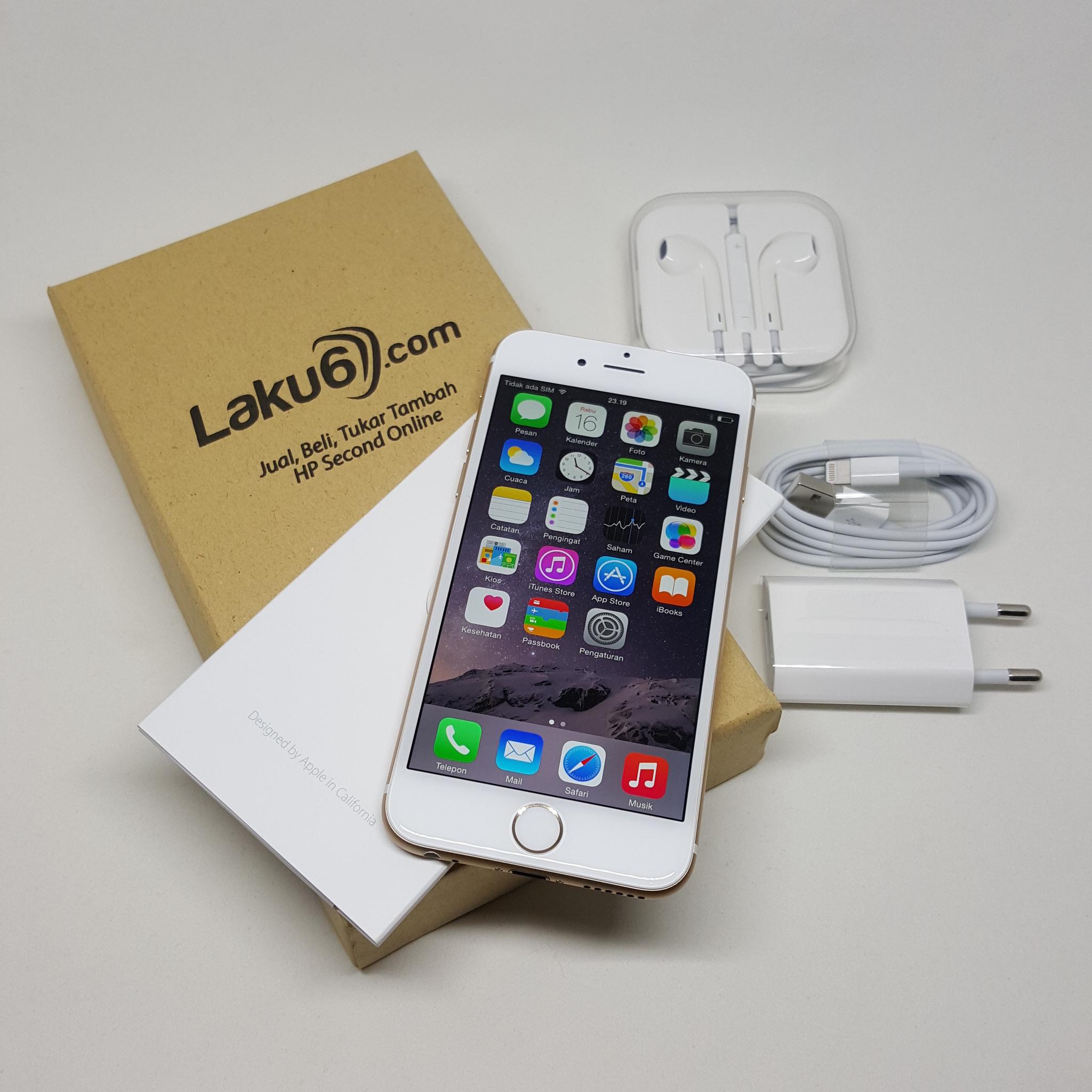 Jual Apple Iphone 6 128GB Bekas Bagus Asli Murah Laku6