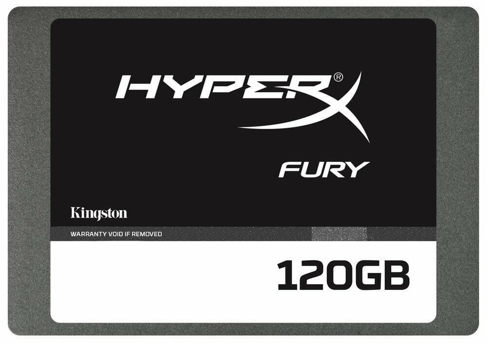 KINGSTON SSD 120GB, Hyper X Fury SHFS37A