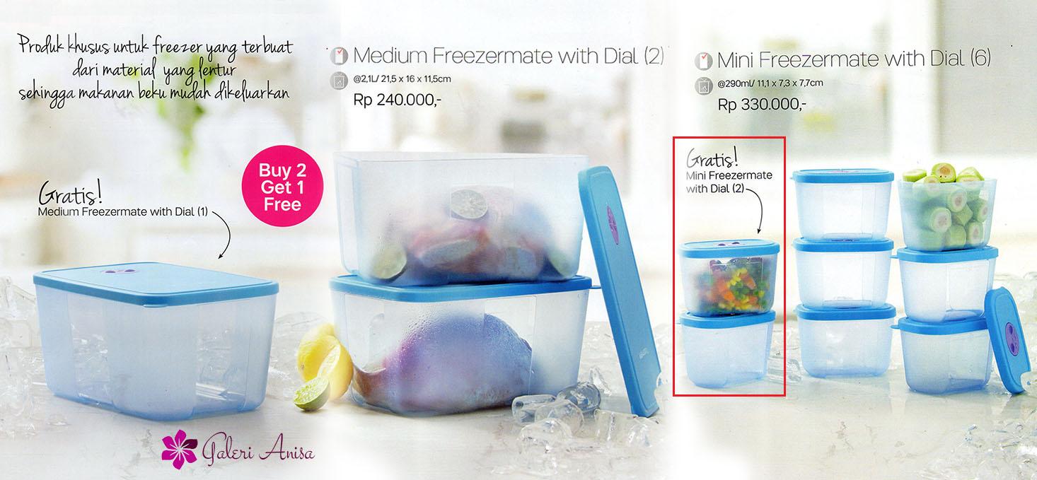 Jual mini freezermate with dial tupperware barokah family shop Tokopedia .