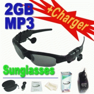 Kacamata MP3 2GB Bluetooth Sunglasses Murah Grosiran