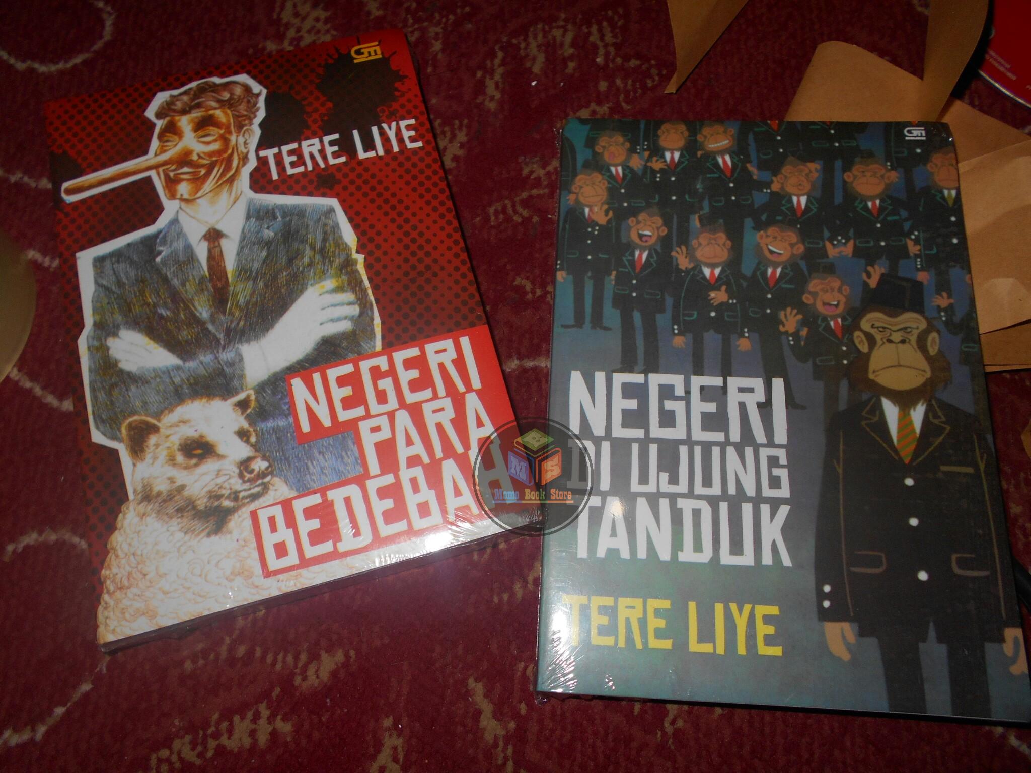 Jual Paket 2 Novel Negeri Para Bedebah Dan Di Ujung Tanduk By Tere Liye Momo Book Store Tokopedia