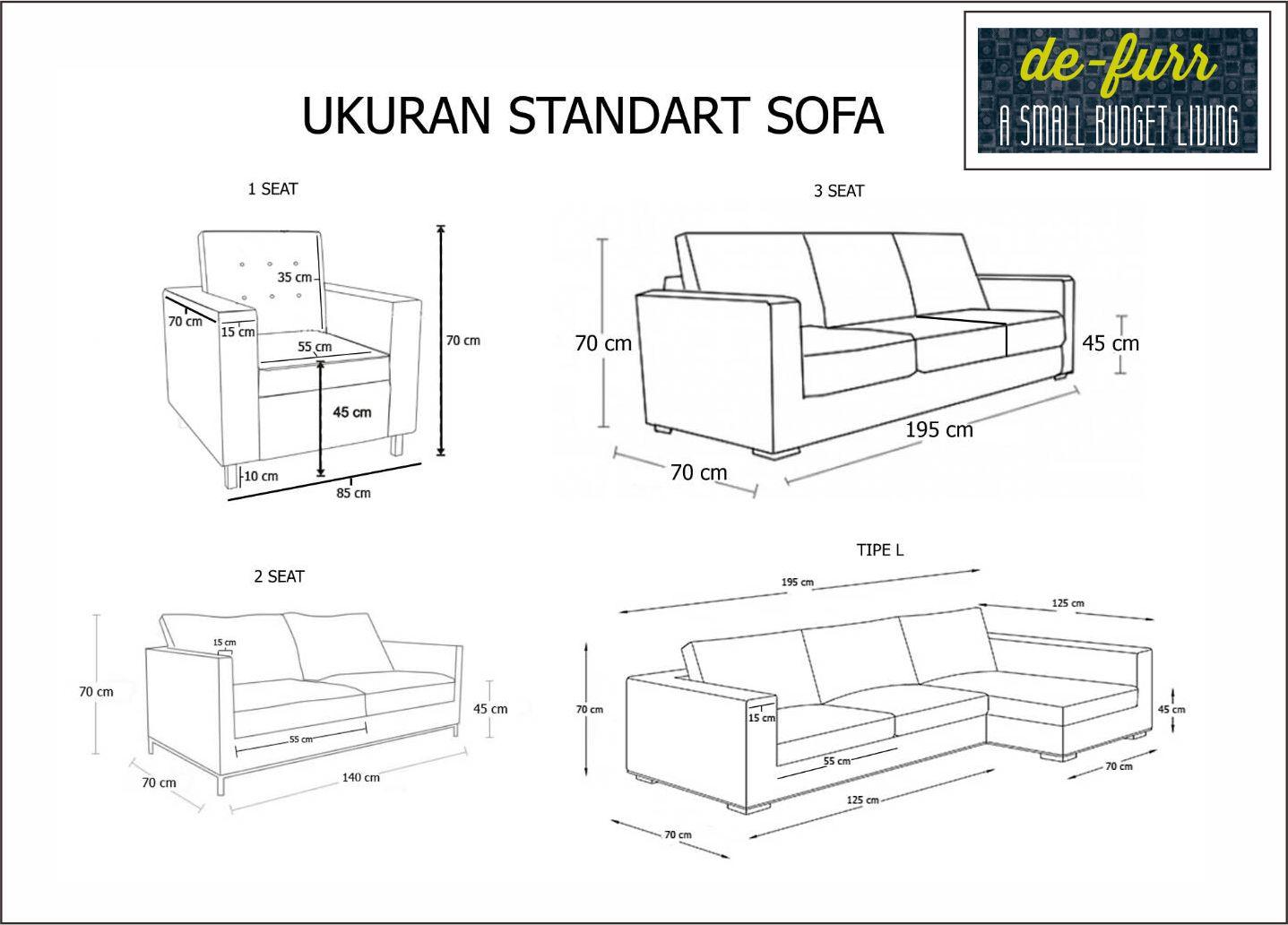 Ukuran Sofa 2 Seater Farmersagentartruiz Com
