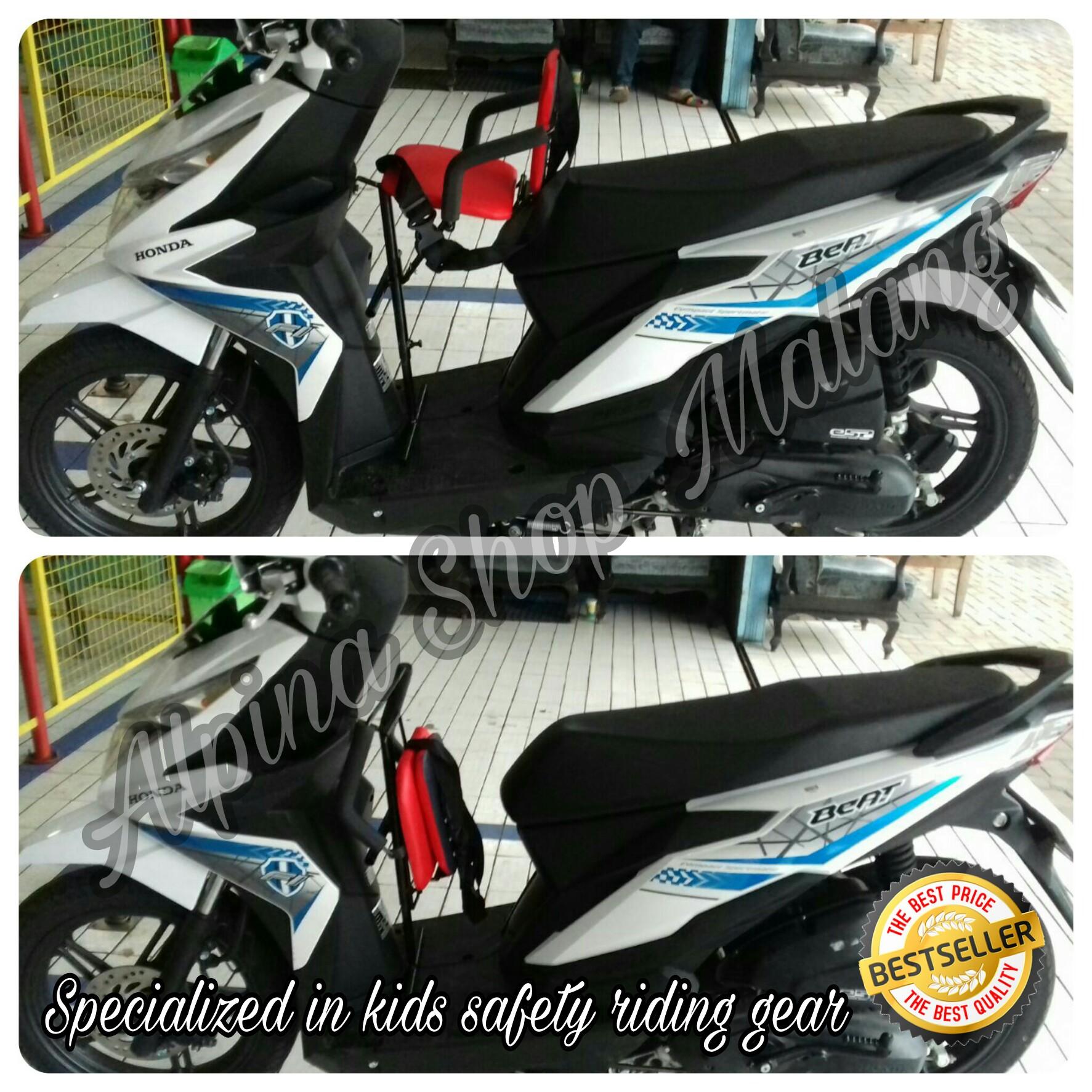 Jual Kursi Bonceng Boncengan Anak Alpina Matic Shop New Sepeda Depan Malang Tokopedia