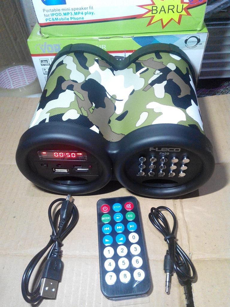 Speaker Al Quran Fleco F-39 Audio Murottal Digital Hafalan F39