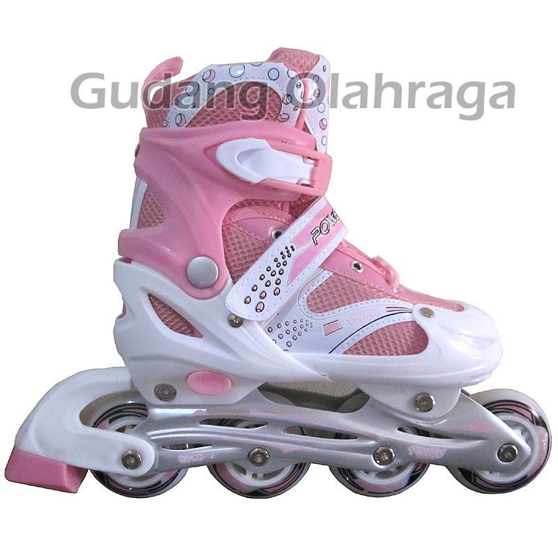 Sepatu Roda Inline Skate Power Superb Pink df6d35f581