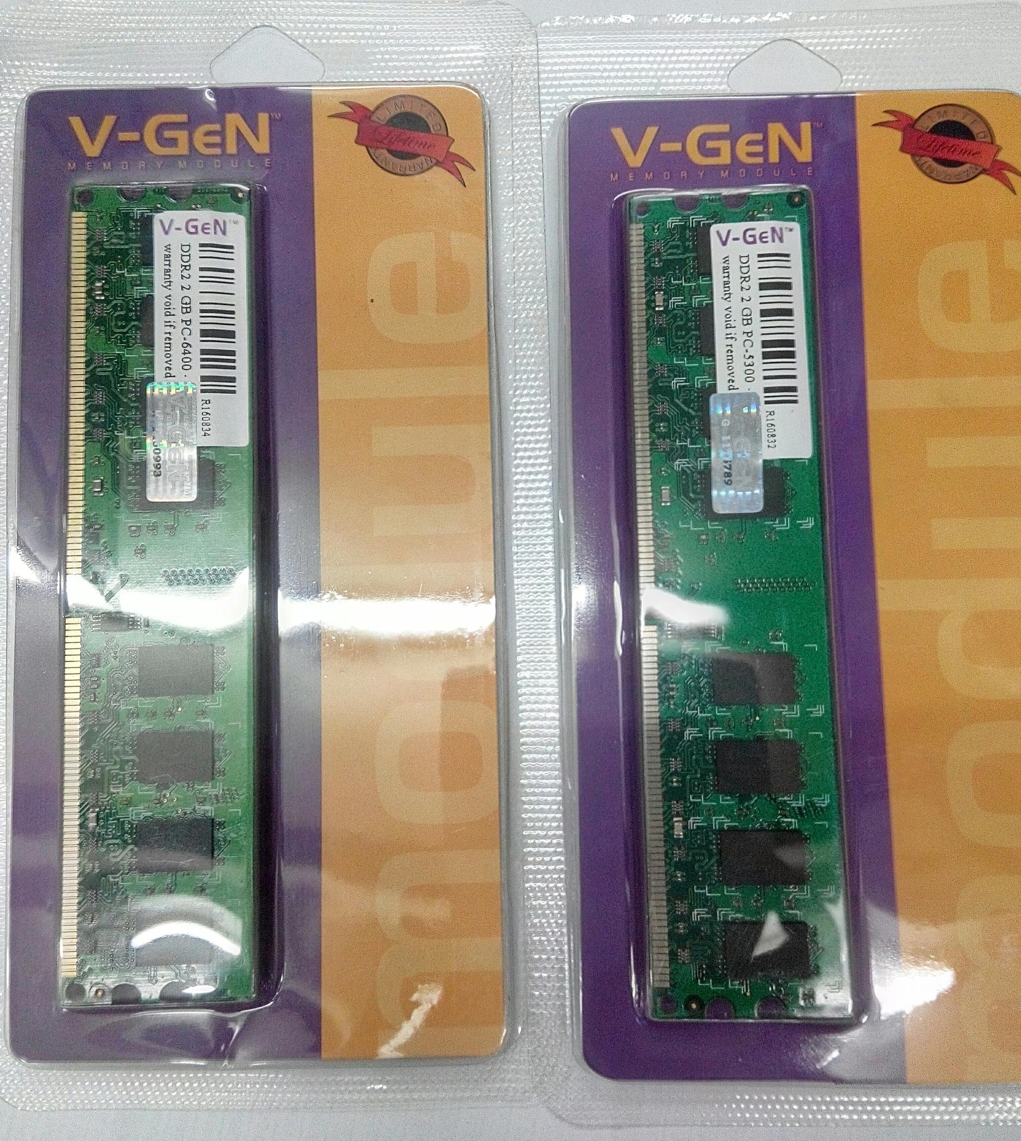 Jual V Gen Memory Ddr2 2gb Pc 5300 6400 Pedia Komputer Resmi Vgen Ddr 2 Tokopedia