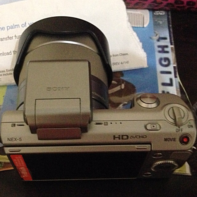 Camera Sony Alpha Nex 5