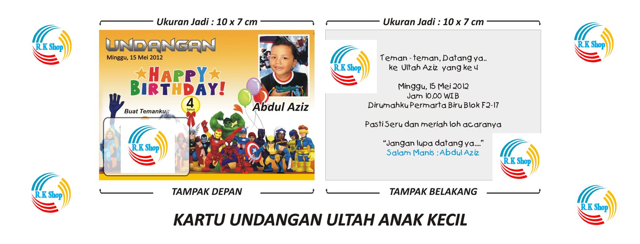Comment on this picture ulang tahun anak contoh undangan kartu apps - Jual Kartu Undangan Ulang Tahun Anak Kode Kecil