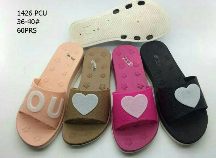 Jelly Shoes Wanita Fashion Pcu Wa