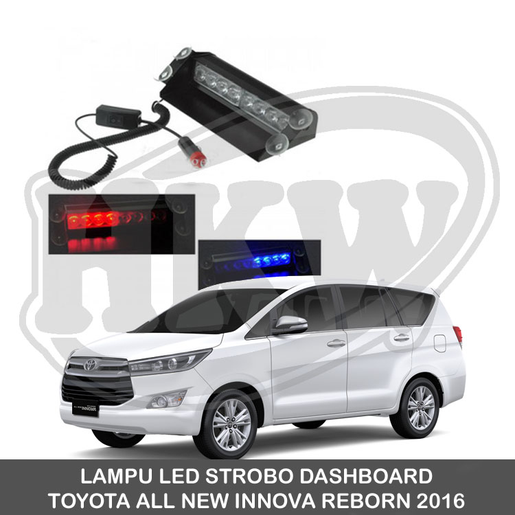 LAMPU LED STROBO DASHBOARD TOYOTA ALL NEW INNOVA REBORN Diskon
