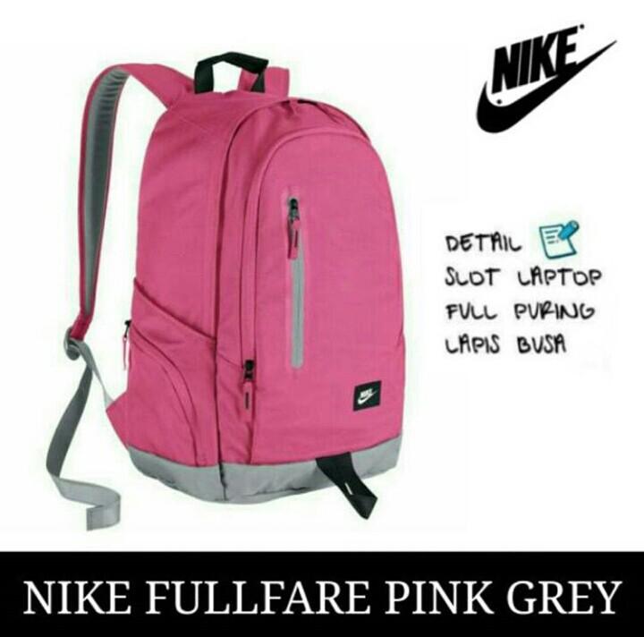 Jual Tas Ransel anak laptop sekolah pria  wanita  cowok remaja Nike ... 39c0fea92a