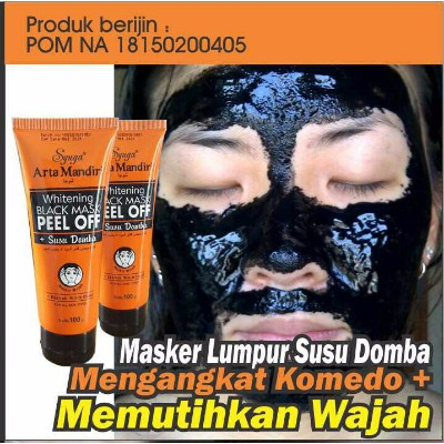Naturgo BPOM - Masker Lumpur Susu Domba - Naturgo Syuga