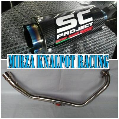 Knalpot SC Project Fullsystem Yamaha Jupiter MX Old / New / King