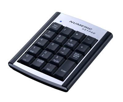 VZTEC Portable USB Numeric Keypad - VZ-UK2153