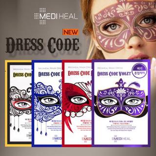 Dress Code Red Mediheal Masker Korea (RED / MERAH) 3