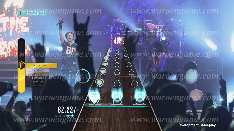 Wii U Guitar Hero Live + Guitar Bundle Berkualitas