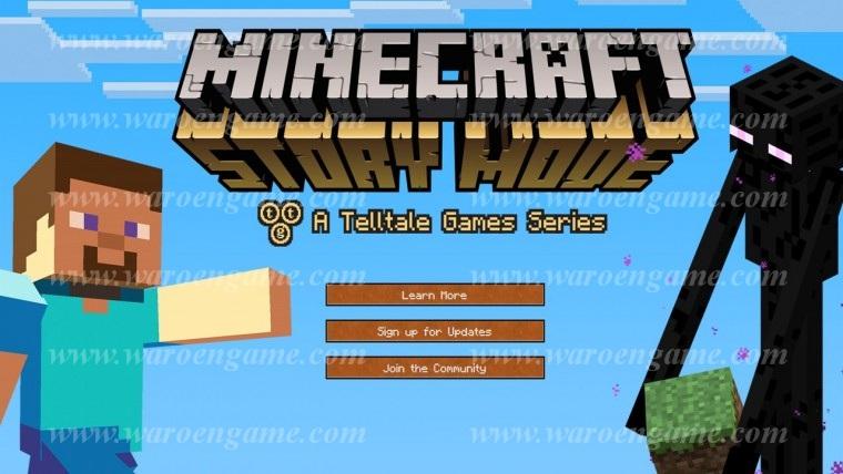PS4 Minecraft Story Mode R2 Diskon