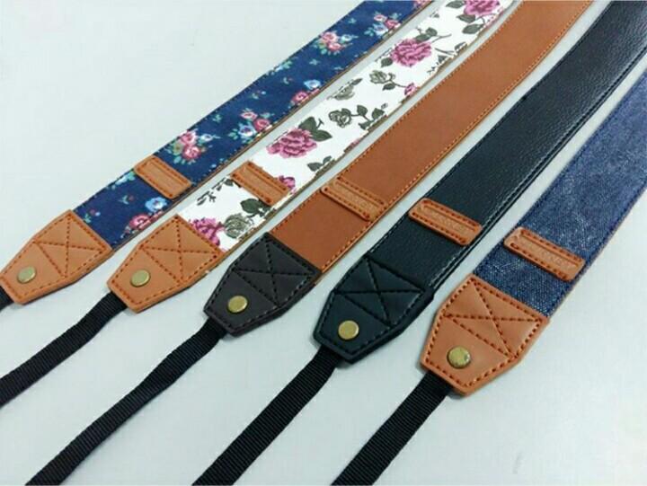 SPECIAL Strap / Tali Kamera Journey Kulit Leather Coklat PALING LARIS