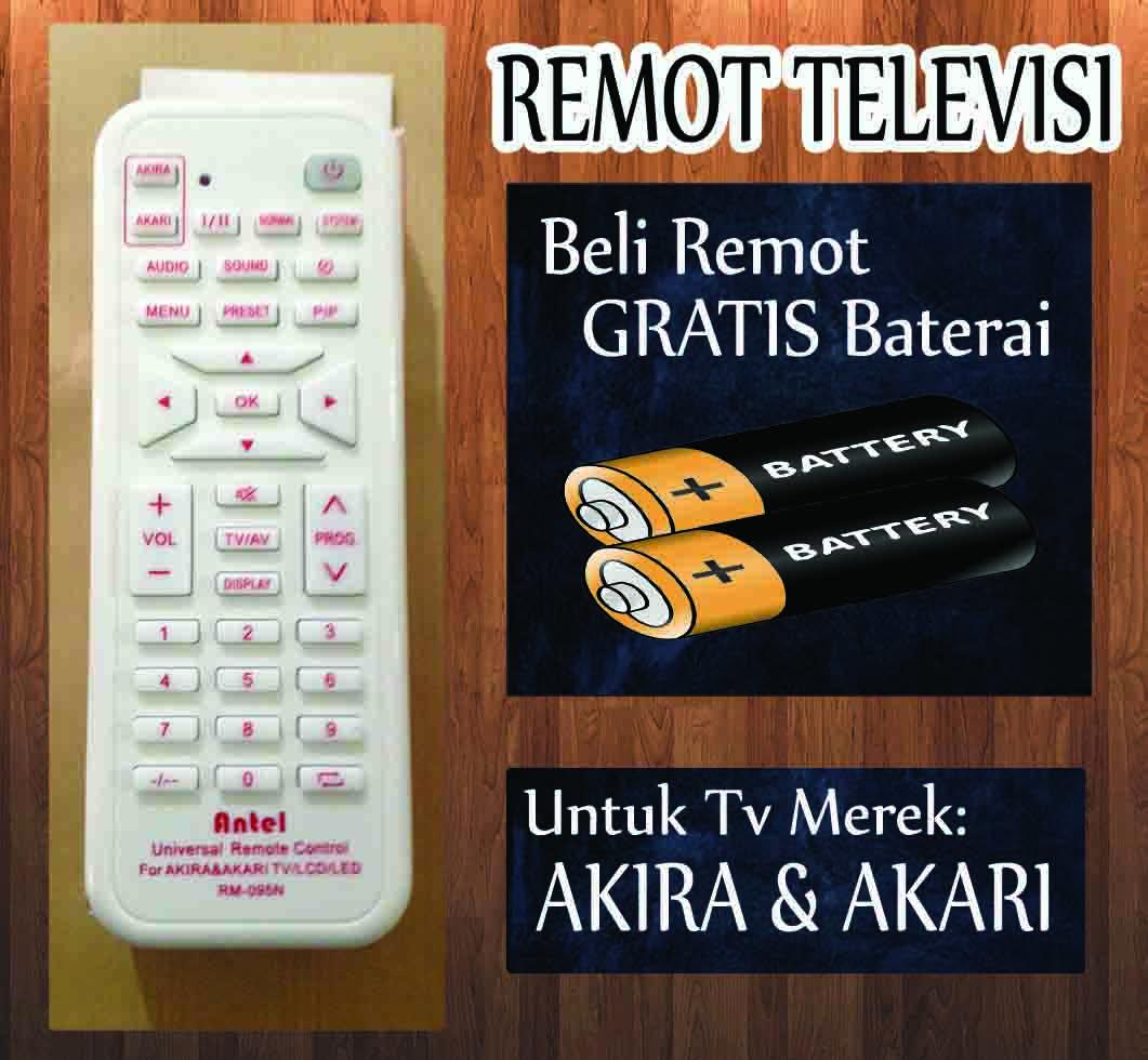 Jual Remote Tv Akari Akira Defor Tokopedia