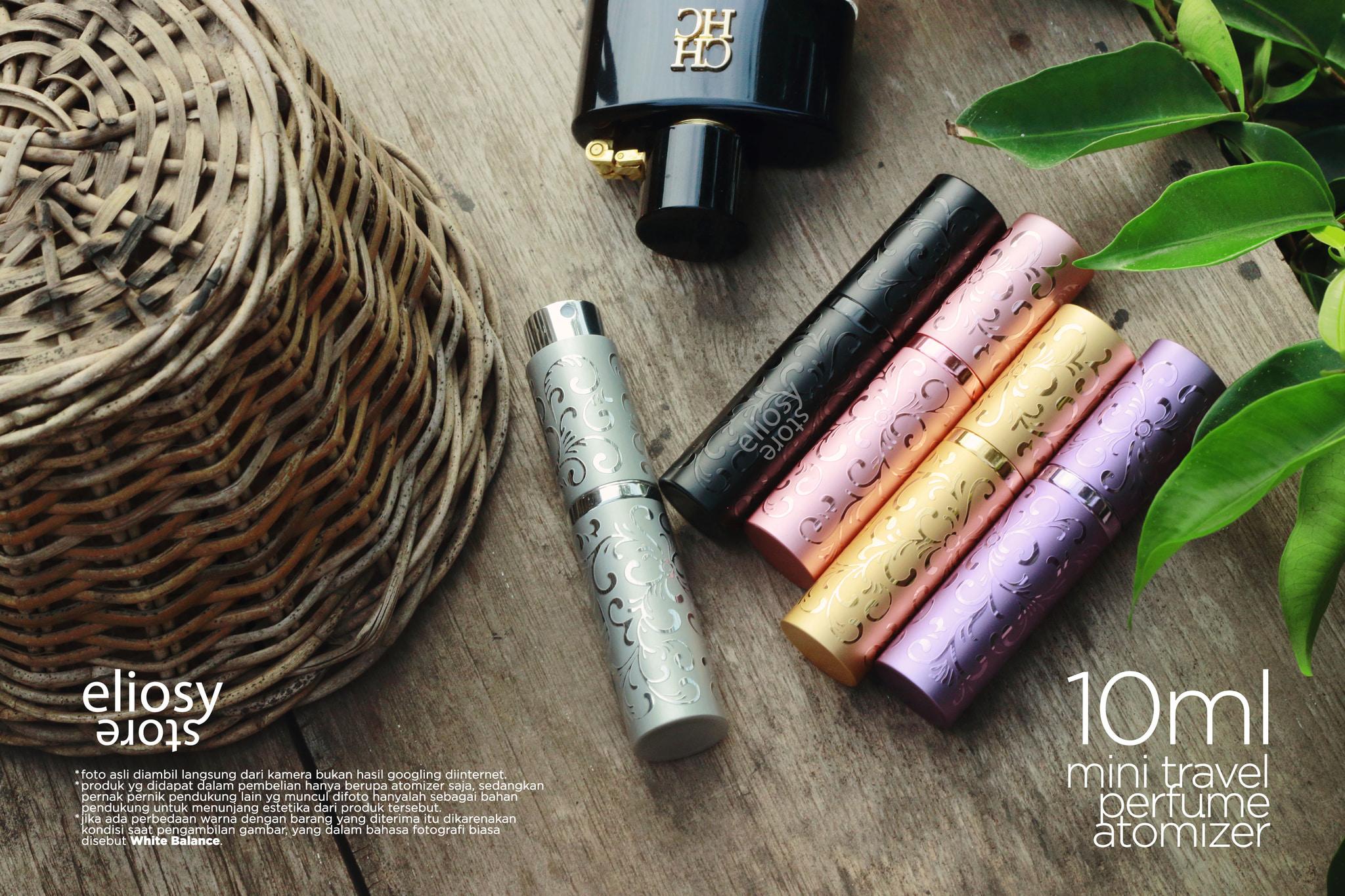Jual Termurah Travel Perfume Atomizer Spray Botol Parfum Isi Ulang Refillable Refill Eliosy Tokopedia