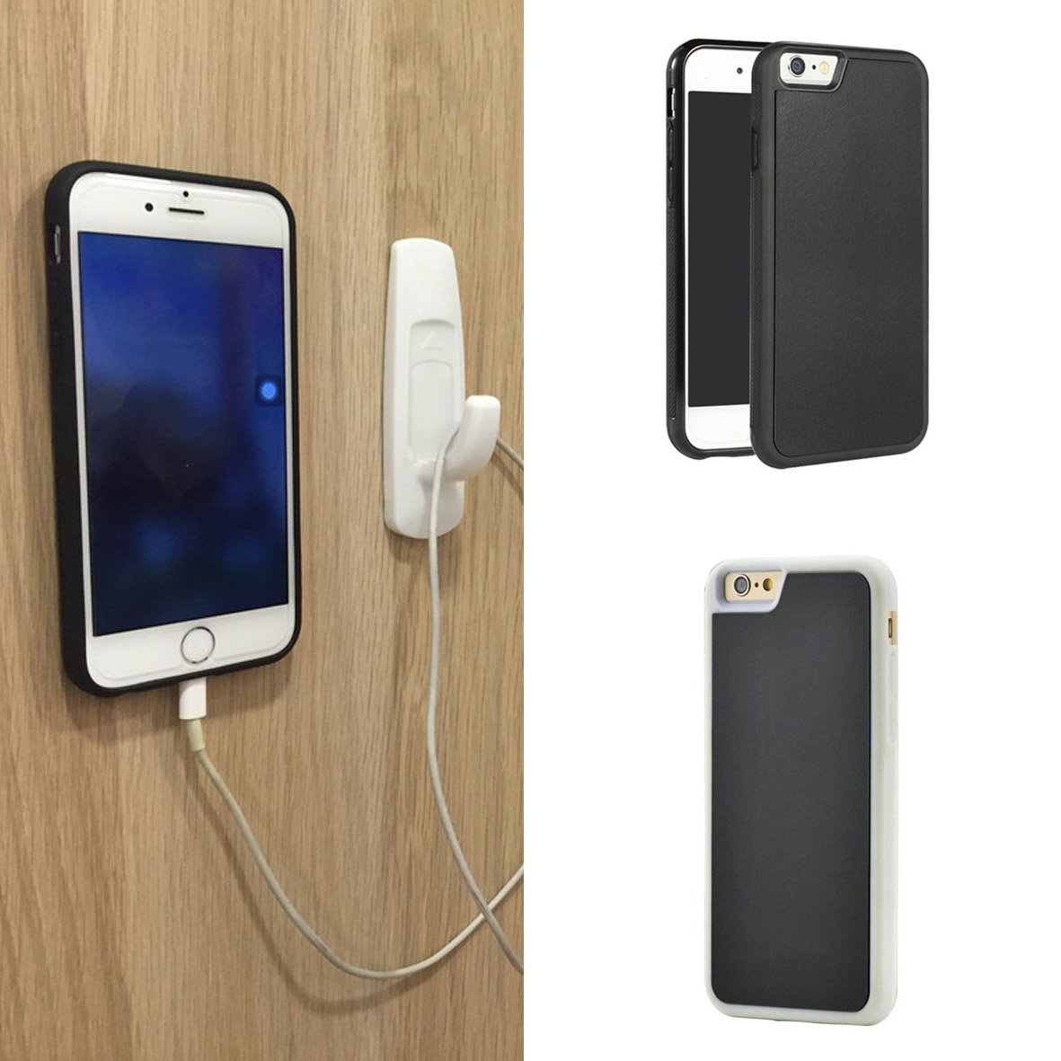 Case Anti Gravity Iphone 5 5s Se Nano Technology Soft Tpu Hitam 6 6s Crack Shock Softcase Ultrathin Clear Jual