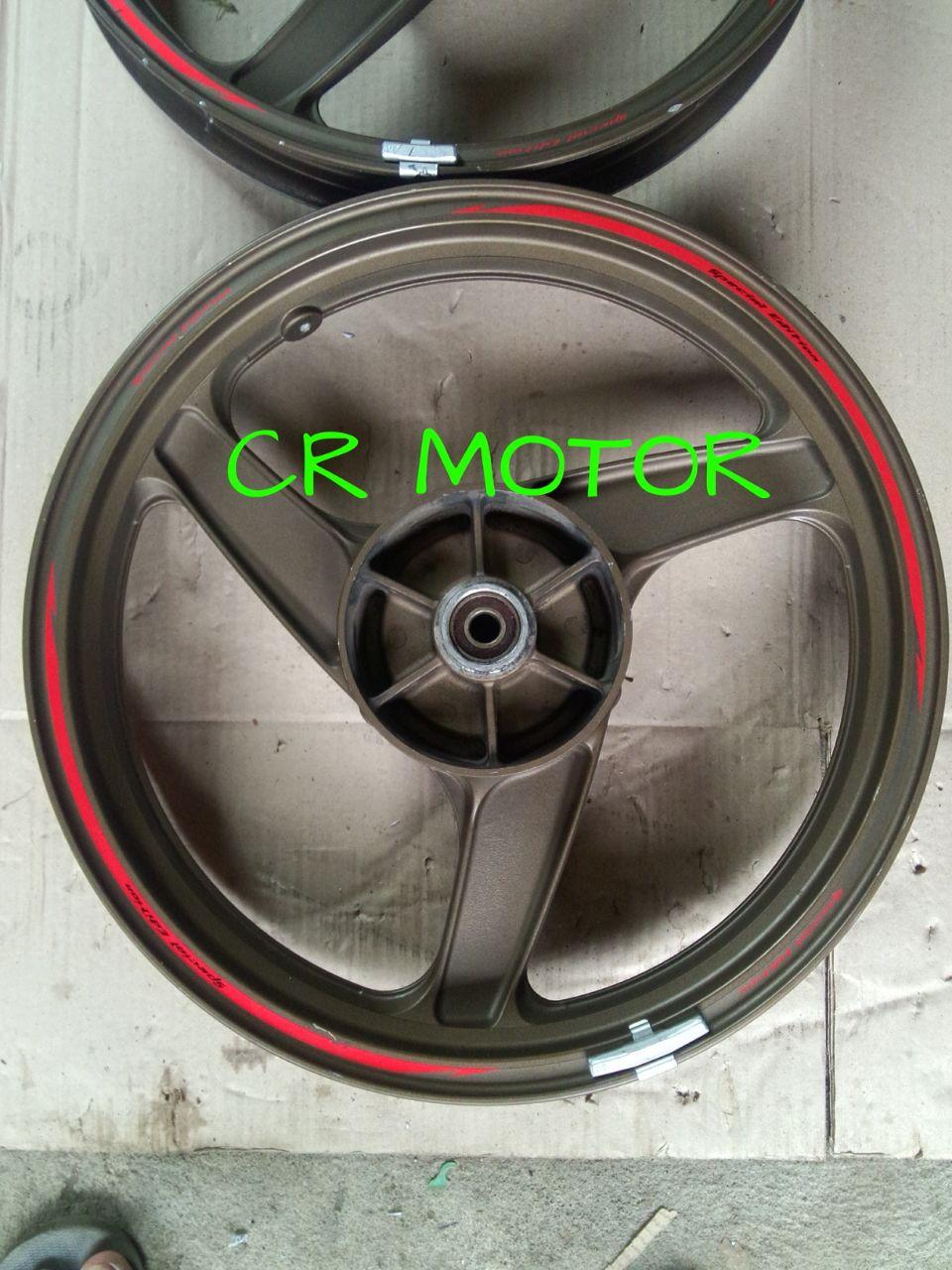 Pelek Resing Ninja RR Original Copotan Motor