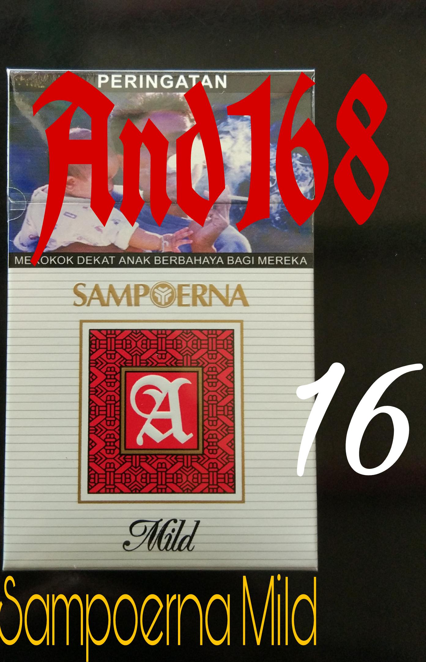 Jual Rokok Sampoerna Mild 16 Sampurna Mil Isi And168 Tokopedia Batang