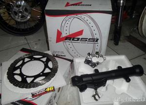 Shock Double Disc Kaliper Z250 Kawasaki