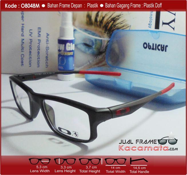 Jual Frame Kacamata Korea RETRO Lensa Minus Antiradiasi
