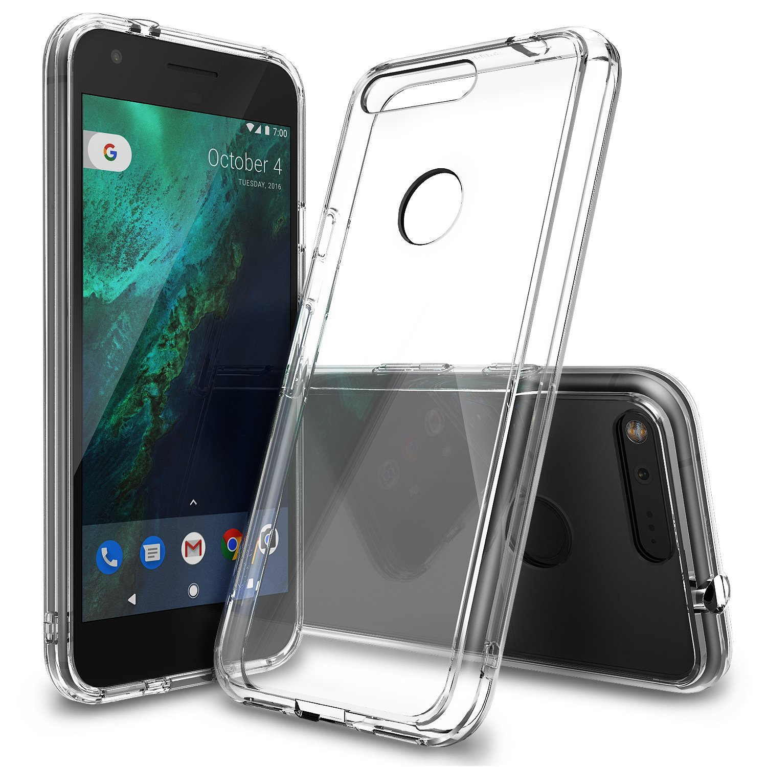 Ringke Google Pixel Fusion Case Casing - Crystal Clear Transparan