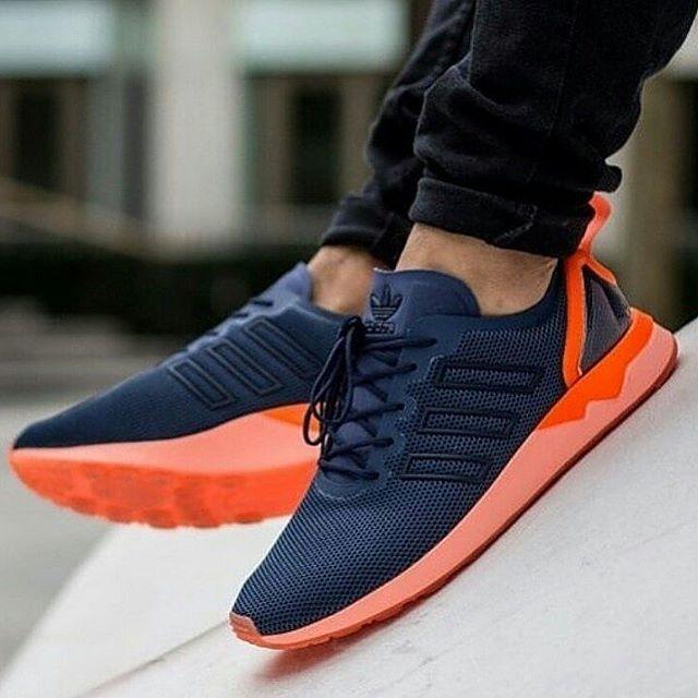 c2c0cff0a Jual Adidas ZX Flux Adv Navy Orange - Go Shoes Jakarta (INA) Tokopedia .