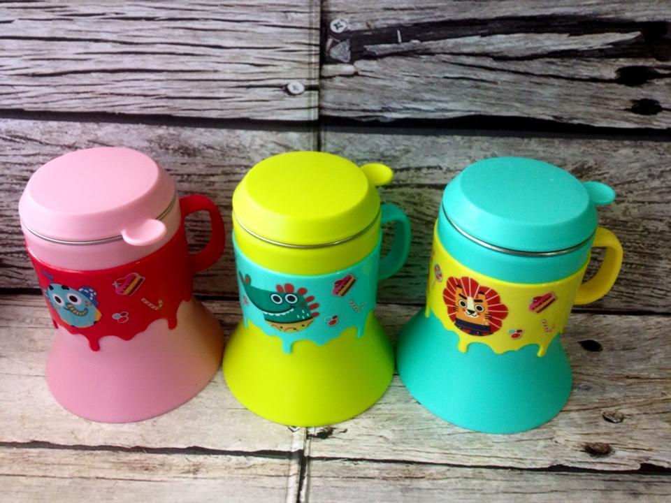 Gelas Anak Stainless Steel DearYa Baby Feeding Gear BPA FREE