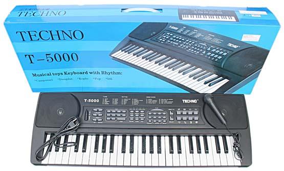 harga Piano Keyboard Techno T5000/ Piano Techno T5000/ Alat Musik Keyboard/ Hadiah Ulang Tahun Blanja.com