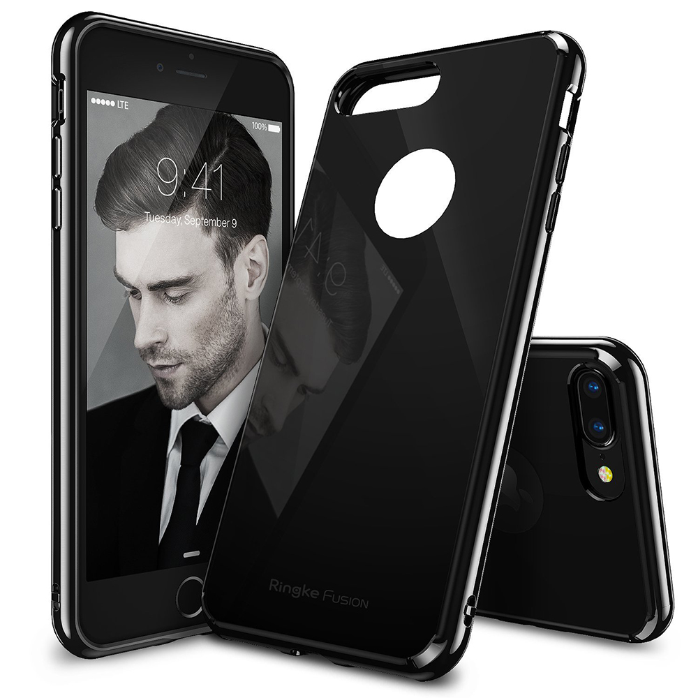 Ringke Fusion iPhone 7 Plus Case,Casing,Cover - Shadow Jet Black